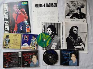 MICHAEL JACKSON CD LIVE TOUR 96 + 3 FOTO + 2 CD Single + Tutto Giornale Italy