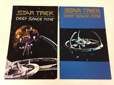2 Star Trek Deep Space Nine Ashcan preview comic books