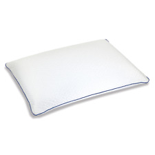 """Serta Forever Cool Gel Memory Foam Pillow 18"""" X 28"""" Constantcool Cover - White"""