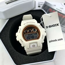 Casio G-Shock S Series White/Rose Gold Digital Sports Watch GMDS6900MC New!
