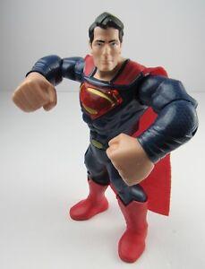 "Mega Punch Superman Action Figure Talks Punching Lights & Sounds 10"" Interactive"