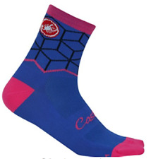 Castelli Vertice Sock Cycling Purple And Pink Size S/M New