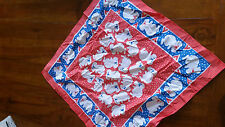 Dynamo House red Koala square Bandanna preowned excellent cond free post D81