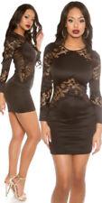 Kurze Stretch Damenkleider in Größe M