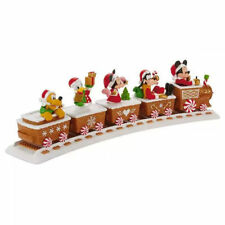 "BRAND NEW! 2016 HALLMARK ""DISNEY EXPRESS"" TRAIN WITH (5) CHARACTERS & THE TRACK"