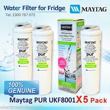 5 x MAYTAG UKF8001XX  WATER FILTER (UKF8001AXX)