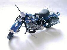 """Harley-Davidson Motorcycle fl"""" 1st del"""" (1948), FM/franklin mint en 1:10!"""