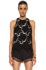 NWT Lover 3D Star Lace Knit Tank Top  sz 10 Cotton