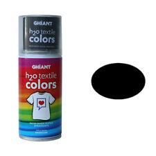 H2o Textil Farbspray schwarz 150 Ml Von Ghiant