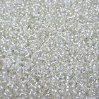 20grams Crystal Silver Lined Toho Size 8 (3mm) Seed Beads No. 21