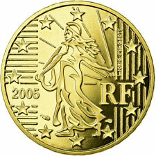 [#730404] France, 50 Euro Cent, 2005, BE, FDC, Laiton, KM:1287