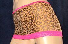 Sexy Mini Jupe, Léopard, agit légèrement transparent, marques Mini-Jupe, Taille S M L