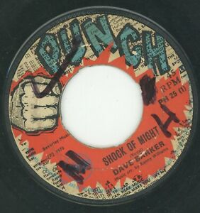 """"""" SHOCK OF MIGHTY."""" dave barker. PUNCH 7in 1970."""