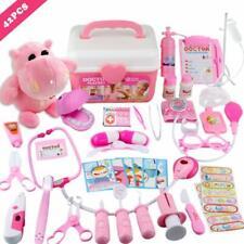 42 Pcs Examine Treat Pet Vet Play Children Medical Toy Set Kids Christmas Gift