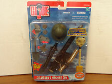 "GI Joe 1/6 12"" Pearl Harbor Vicker's Machine Gun Accessory Set Battle Gear T39"