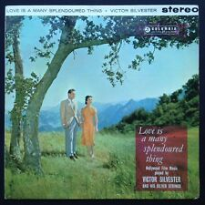 Victor Silvester LOVE IS A MANY SPLENDOURED THING jazz LP Hollywood film music