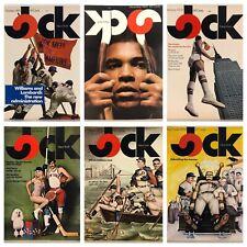 6 Jock Magazines - Pocket Programs & Poster - Ali, Mets, Madison Square Garden