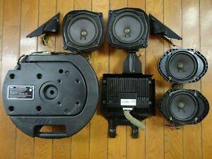 Bose 8-Piece Car Sound System *Powered* Speakers Mazda 6 Wagon Liftback 2002-08