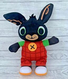 "Bing Bunny Walking Talking Interactive Toy cBeebies Fisher Price 14"""