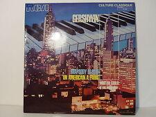 GERSHWIN Rhapsody in blue , un américain à Paris GOULD et son orchestre731020