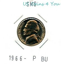 *BU* 1966-P SMS PROOF-LIKE JEFFERSON NICKEL *BEAUTIFUL* L@@K