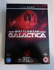 Battlestar Galactica - Seasons 1,2,3 and the mini series / 16 DVD set