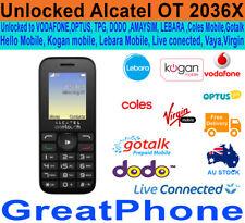 New Alcatel Onetouch 20.36X 3G Phone Unlocked to  Voda*Optus*TPG*AMAYSIM*Lebara