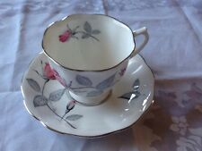 """Royal Albert """"Trent Rose"""" Teacup & Saucer"""