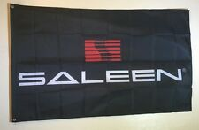 Saleen Mustang Racing Logo S7 3x5 Garage Wall Flag Banner Sign Car Show Man Cave