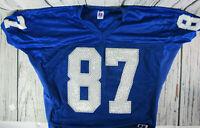 ISU Indiana State University Football Training Jersey Blue XXL #87 Russell
