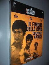 DVD IL FURORE DELLA CINA COLPISCE ANCORA  N°3 BRUCE LEE IL CINEMA ARTI MARZIALI
