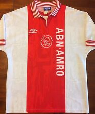 Umbro AJAX AMSTERDAM 1996/97 Home L Soccer Jersey Football Shirt Trui Holland