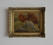 Gemälde Felsen im Randecker Maar sig. Paul Hildenbrand 1962 (1904 - 1971)