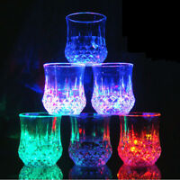 Inductive LED Wine Whisky Cup Flash Light Beer Shot Drink Glass Bar Party Club