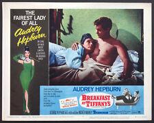 BREAKFAST AT TIFFANY'S AUDREY HEPBURN R-1965 LOBBY CARD #6