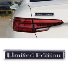 Silver Black 3D Metal Car Auto Rear Fender Limited Edition Badge Emblem Sticker