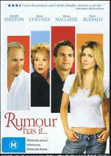RUMOUR HAS IT DVD Jennifer Aniston, Kevin Costner NEW & SEALED Free Post