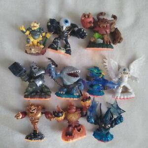 Skylanders Figures lot, Giants, trap team, Bowser, Knight Light