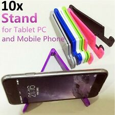 10-PACK Universal Foldable Mobile Cell Phone Stand Holder for iPhone & Tablet