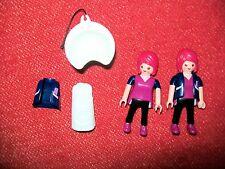 PLAYMOBIL coiffeuse x 2 avec accessoires – 2 vêtements de rechange + lavabo