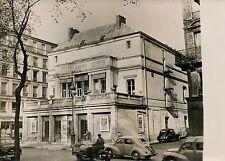 PARIS 1955 - Théâtre Hébertot deviendra Garage ? - Photo de Presse