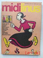 MIDI LINUS Supplemento Linus n 68 MILANO LIBRI 1970 Jeff Hawke Popeye
