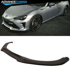 Fits 17-18 Toyota 86 FRS GT Style Front Bumper Lip Polyurethane