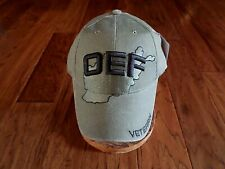 Operation Enduring Freedom Oef Veteran Hat Od Green Distressed Baseball Cap