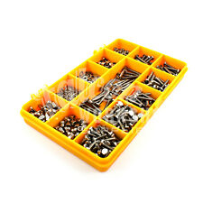 510 ASSORTED PIECE A2 STAINLESS M3 BOLTS WASHERS NYLOC FULL WING DOME NUTS KIT
