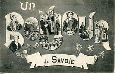 CARTE POSTALE / UN BONJOUR DE SAVOIE
