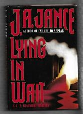 Lying in Wait, J P Beaumont, J A Jance, signed 1st prt, 1st edt Morrow hardcover