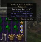Diablo 2 Resurrected Mara