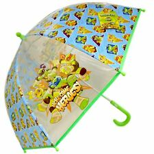 TMNT Teenage Mutant Ninja Turtles Dome Bubble Umbrella Childrens Travel Brolly