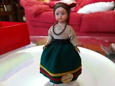 Rarissima Bambola D'epoca Lenci Regionale Ciociara Anni 50 da collezione